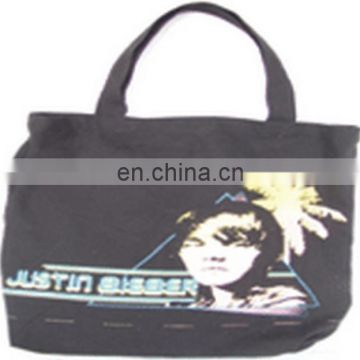 JUSTIN BIEBER SERIES Promotional Full Printing Cotton Canvas bag