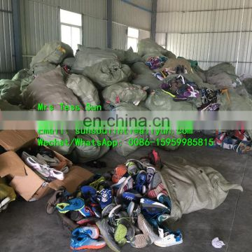 High quality unsort used shoes original materials supplier