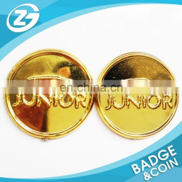 custom plastic metal token coin trolley coin