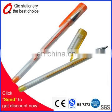 metallic/fluorescent/glitter gel ink pen stationery set with multi colors for school and office 12colors