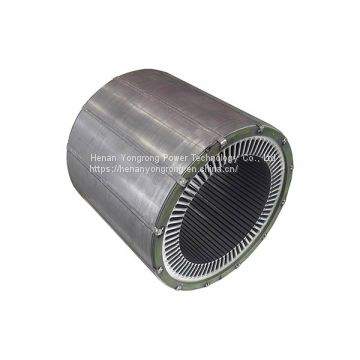 Electric motor generator silicon steel lamination iron core electric motor generator rotor stator core