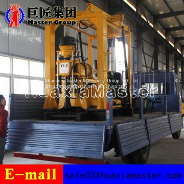 Made In China XYC-3 vehicle type hydrualic water well drilling rig