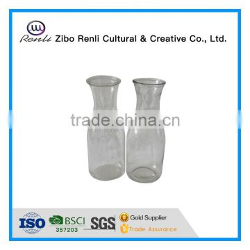 500ml Clear Empty New Glass Milk Bottles Wholesale Bottles