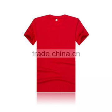 wholesale high quality plain 100% cotton white t-shirt 100% plain blank cotton t shirt manufacturer