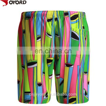 factory custom sublimation high waist fashion bikini swimwear/beach shorts