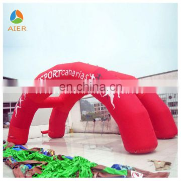 New Cheap Sports Inflatable advertising arch ; inflatable archway