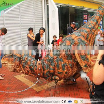 KAWAH China Supplier Amusement Park Adult Dinosaur Suit Riding T rex Costume