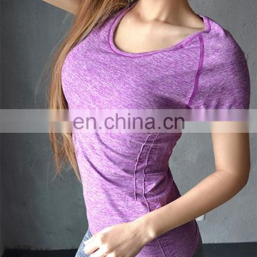 Gym T shirt Compression Tights Women's Sport T-shirt Dry Quick Running Short Sleeve T-shirts Fitness Women Clothes Tees & tops
