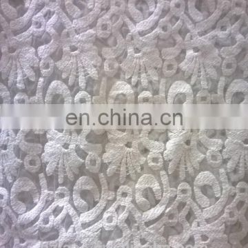 cotton embroidery fabric lace