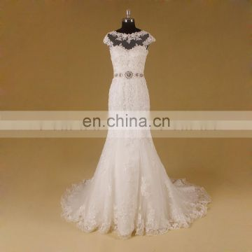 New exquisitely designed elegant wedding dress bridal manufacturer