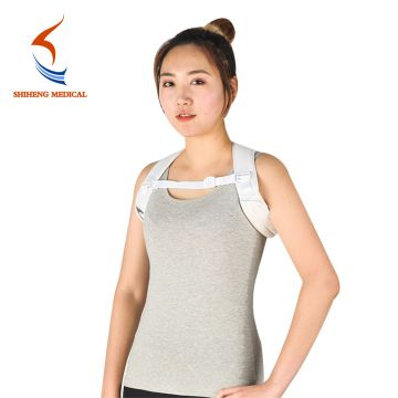 Sticky fabric thin foam good design back posture corrector for sale