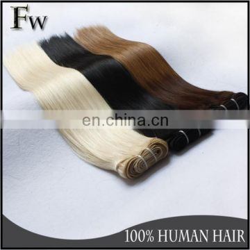 Golden supplier virgin double drawn 100 chinese remy hair extension