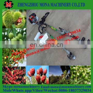 HOT sell gardening gasoline coffee cacao olive picker shaking harvesting machine