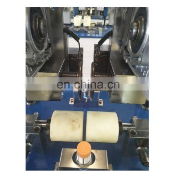 Excellent knurling machine with insertion for aluminum profile