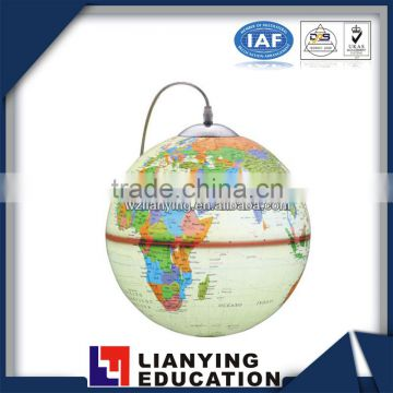 8.5cm, 10.6cm, 14.2cm, 18.2cm, 21.4cm, 32cm multilingual world globes With lampstudent