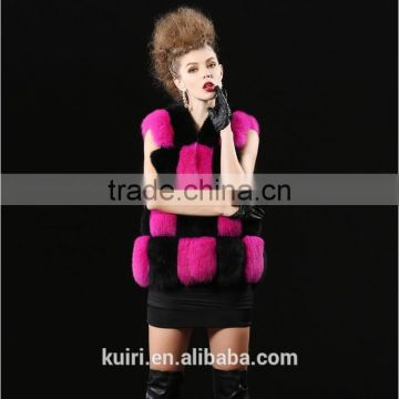 New 2016 Fashion Autumn Winter Coat Warm Women Fur coat Faux Fox Fur Vest High-Grade Jacket