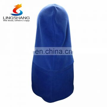 fashion Blue color fleece polar Winter balaclava face mask