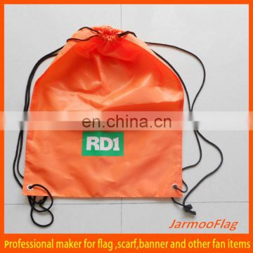 adjustable nylon draw string bag