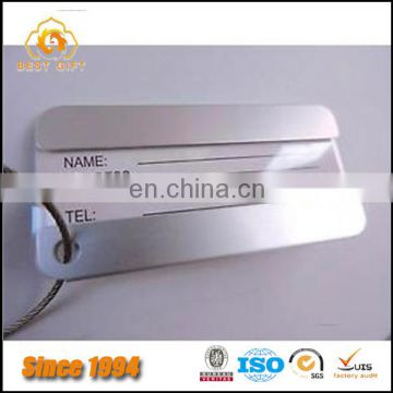 Aluminium Metal Strong Label Travel Identity Luggage Tags