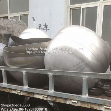 30mm-2000mm hollow half ball metal iron half sphere hemispherical stainless steel hemisphere