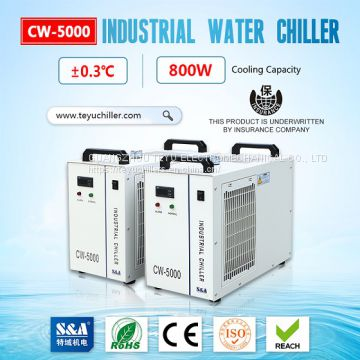 S&A refrigeration water chiller CW-5000 with compact design and stable cooling performance