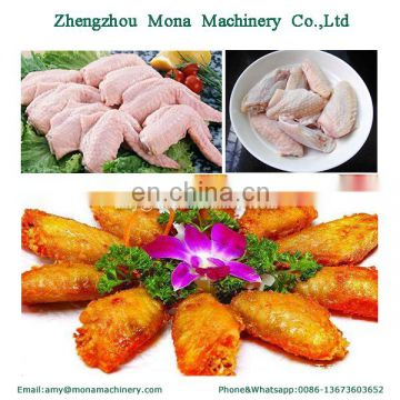 Poultry wing cutter/Chicken wing tips cutting separating machine