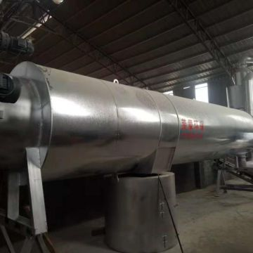Wood Sawdust Rotary Vacuum Dryer Wood Dryer For Sale