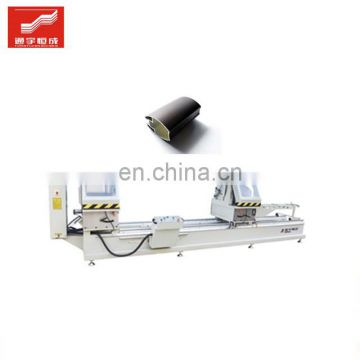 Two head saw pvc window Machine Supplier 90 degree corner angle groove cutting prices