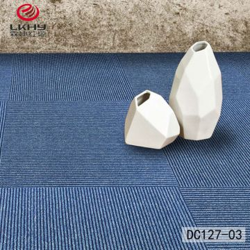 nylon  Polypropylene PP surface Bitumen PVC backing commercial office carpet tile  living room carpet