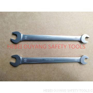 TITANIUM TOOLS WRENCH DOUBLE OPEN END 8*10MM NON-MAGNETIC