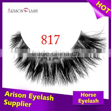 e84593253bf black color private label real siberian mink fur eyelash extensions and  horse fur lash, human ...