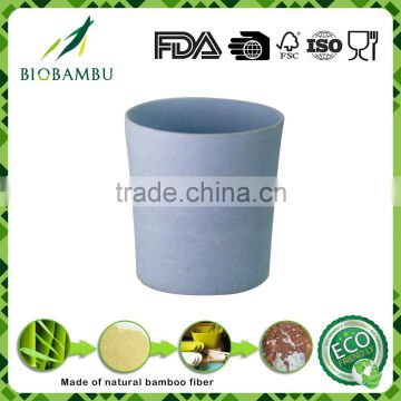 Health material biological selling well bamboo fiber travel cup