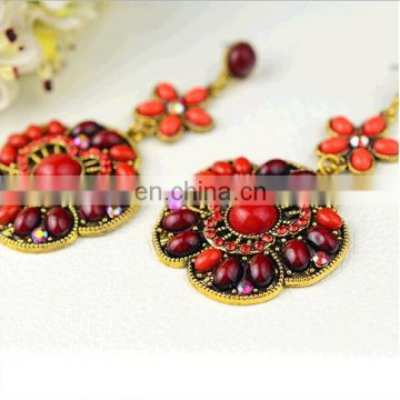 New fashion cheap earrings made in china with New Bohemian Style Colorful Earrings Handmade Beads Earrings for Best Gift