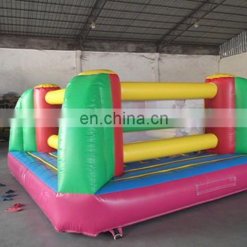 High quality kids and adults sport game inflatable boxing ring arena,inflatable bounce house