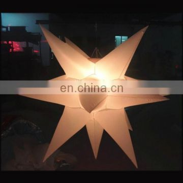 NB-ST369 Customized Giant inflatable star for event decoration