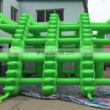 newest product Customize green inflatable archway tunnel tent inflatable archway for outdoor lawn decoration