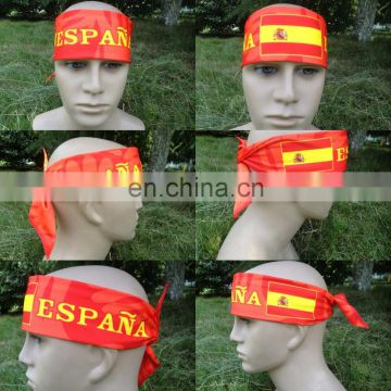 2018 European Football Cup FOOTBALL HEADBAND