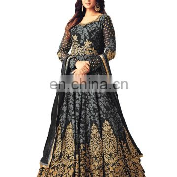 New Wedding Party Wear Stylish Anarkali Suits 2018 (Semi-Stitched)