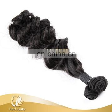 2016 new arrival 7A Fummi double drawn full ends hair remy human hair Spanish Curl
