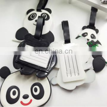 Promotional Cheap Custom Soft PVC Luggage Tag Wholesale