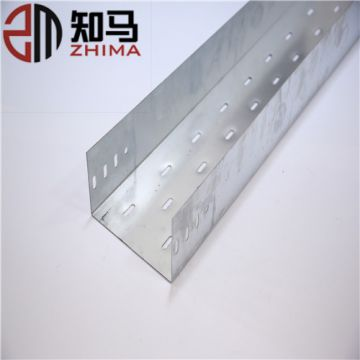 Galvanized Ventilated electrical Cable Tray Sizes