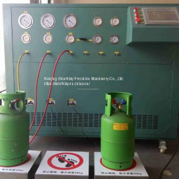 R134a refrigerant filling machine gas multiple stage split charging machine CM20