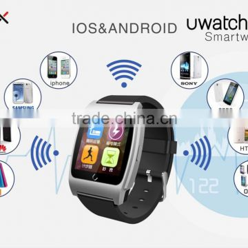 Bluetooth smart watch with heart rate monito for Android IOS System, pedometer, sleep monitor, heart rate measure, compass
