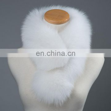 Factory price China fur winter warm fur collar lady fashion neck warmer