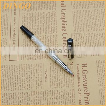 manufacture wholesales high quality custom logo metal ball pen advertising promotional crystal pen