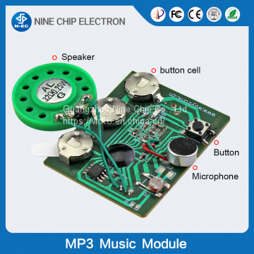 Voice module for greeting card sound module push button recordable voice module for greeting card sound module push button recordable sound chip m4hsunfo