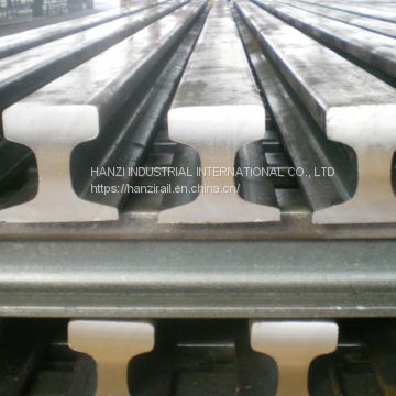 Railroad Crane Rail DIN536 Standard A55 A65 A75 A100 A120 in Stock