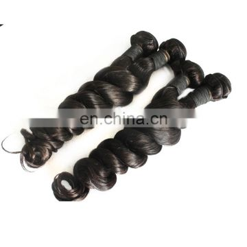 Wholesale popular human hair weavings natural black color loose wave hair remy philippine human hair extensions