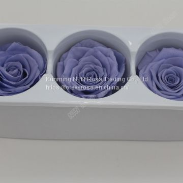 Romantic Artificial Flower Luxurious Flower Red Rose Preserved Roses for Wedding Decoration