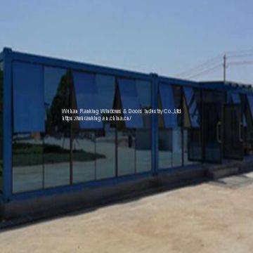 aluminum glass curtain wall
